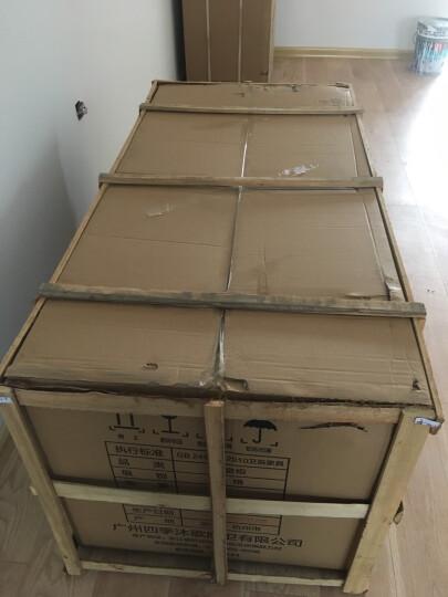 四季沐歌(MICOE) 加厚实木洗衣柜浴室柜组合套装洗衣机伴侣阳台洗衣机柜子台面带搓衣板 M-GXBD01实木洗衣机柜(灰色) 1358元抢110CM-右盆(不含吊柜) 晒单图