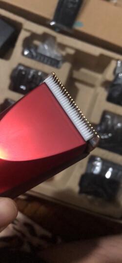 奔腾(POVOS)理发器剃头电推子 专业成人电推剪婴儿儿童理发剪刀 双电池静音 PW230+平剪套组 晒单图