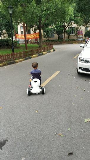 好加(GoodPlus) 好加儿童电动车儿童电动三轮车宝宝小孩可坐玩具车儿童电动摩托车室内玩具童车 白色 晒单图