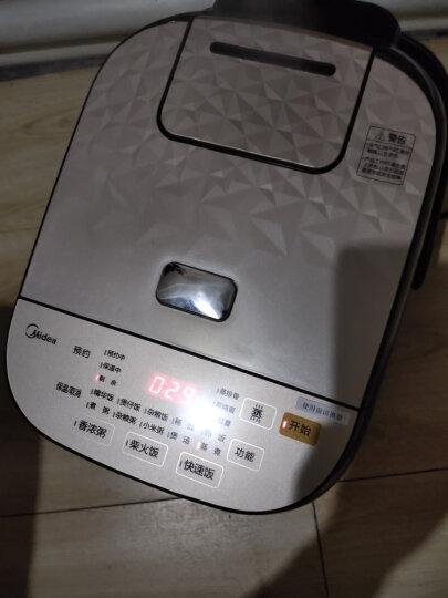 美的(Midea)电饭煲电饭锅4L匠银聚能厚釜内胆电饭煲触摸操控智能一键柴火饭MB-40EASY202(24小时预约) 晒单图