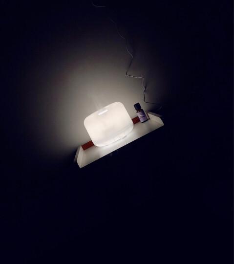 绿之源 超声波精油香薰机暖光款加湿器500ml 家用静音办公室卧室香薰藤条香薰炉香氛蜡烛香薰灯扩香机 晒单图