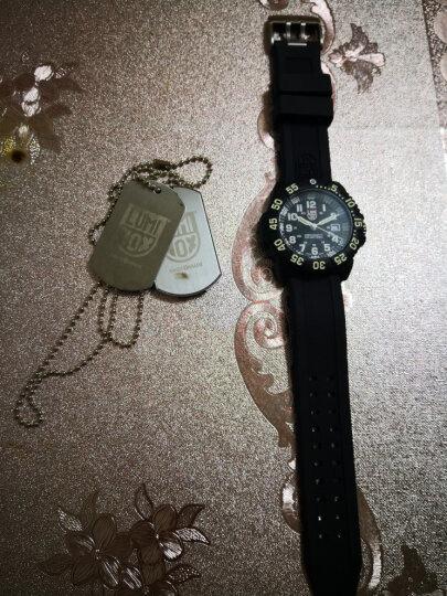 瑞士军表特种雷美诺时手表男 LUMINOX鲁美诺斯氚气运动表 XS.3052.BO 晒单图