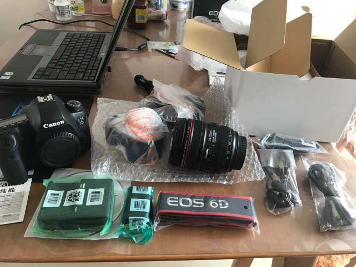 佳能(Canon) EOS 6D 单反套机(EF 24-70mm f/4L IS USM 镜头) 晒单图