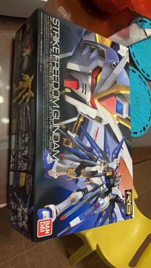 万代(BANDAI)高达模型【送支架】 RG敢达拼装玩具 1/144 系列 RG 32 v NU 牛高达 RX-93 晒单图