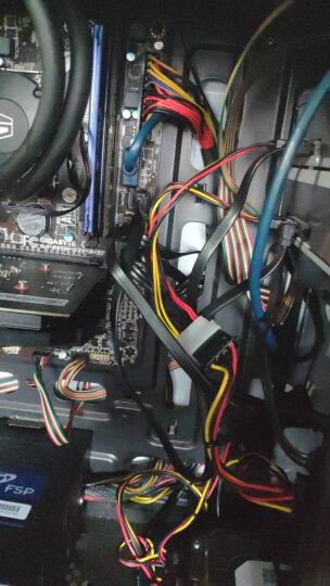 山泽(SAMZHE)高速SATA2代硬盘数据线(弯对直)/SATA串口硬盘电源线 SSD固态硬盘连接线安装线套装 UX-06A 晒单图