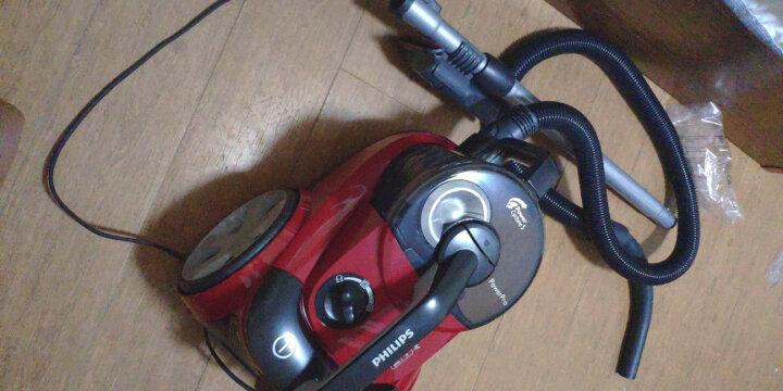 飞利浦(PHILIPS)卧式吸尘器家用大功率大吸力多种吸嘴无尘袋FC8760/81 晒单图