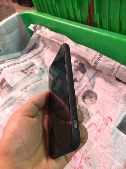倍思(Baseus)苹果X手机壳iPhoneX编织高端手机套透气防摔保护套苹果iphone10手机全包男女软壳 5.8英寸 黑色 晒单图
