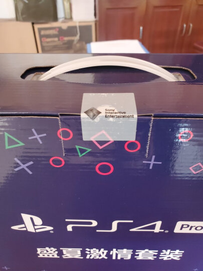 索尼(SONY)PS4 Pro/slim国行电脑娱乐机家用体感电视游戏机4K高清支持VR PS4 PRO送美国末日+辐射76 +原装手柄 1TB 黑色 晒单图