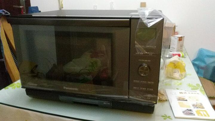 松下(Panasonic)变频蒸汽微波炉家用全自动智能变频微蒸烤一体机多功能光波水波炉烧烤烘焙一体 NN-DS1000黑色 晒单图