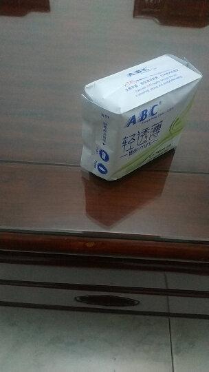 ABC KMS亲柔立围棉柔表层0.1cm轻透薄夜用卫生巾280mm*8片(KMS健康配方)(淡雅清香 干爽舒适) 晒单图
