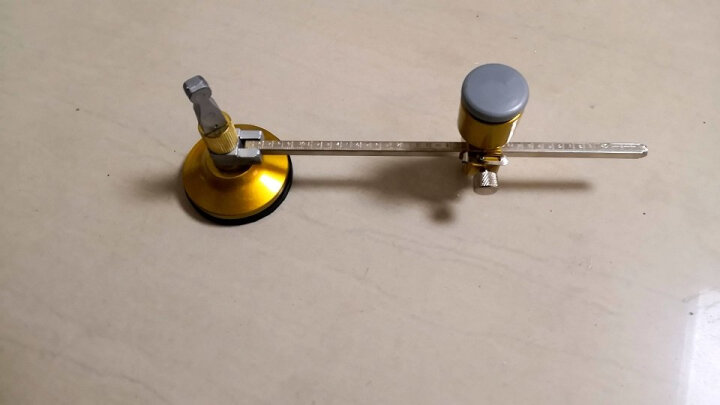 美科(MYTEC) 玻璃圆规刀 多功能万用高精度划圆刀油烟机开孔器割圆刀 裁圆刀 玻璃割圆刀 专业玻璃圆规 晒单图