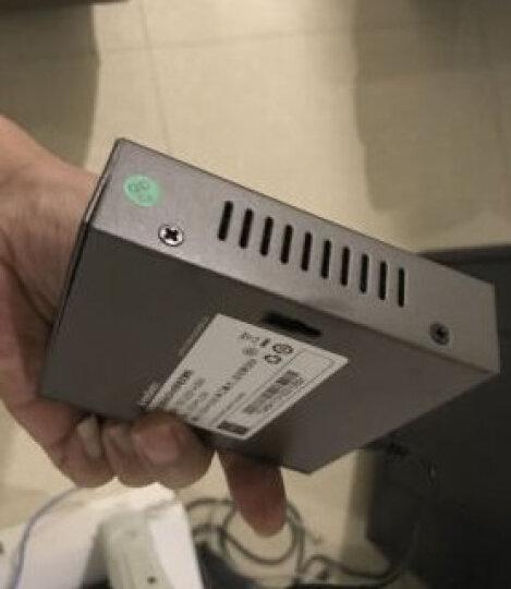 腾达(Tenda)TEF1218P-16-250W 16口百兆智能PoE供电交换机 企业工程监控 网络分线器 网管型 晒单图