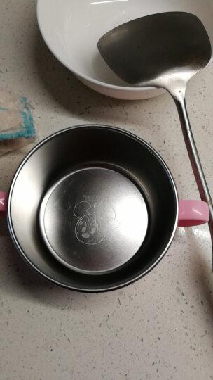 迪士尼(Disney)维尼宝宝水杯学饮杯 儿童不锈钢水杯早餐杯小孩牛奶杯子 单手柄带盖 250ml 韩国进口 晒单图