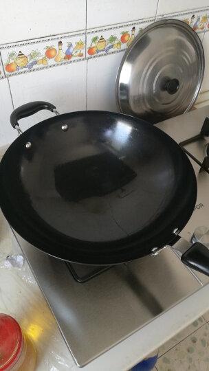 爱仕达 32CM精铁炒锅WG8332ZT 精铁锅具炒菜锅明火专用 晒单图