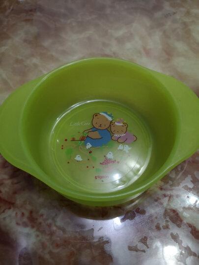 贝亲(Pigeon)婴儿餐具套装(辅食碗(2只装) 带盖子+勺子(2只装)+收纳盘+托盘)宝宝儿童餐具 6个月以上 DA40 晒单图