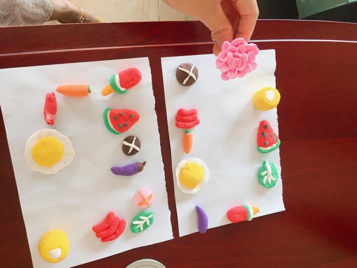 培培乐彩泥橡皮泥超轻粘土太空沙泥 男女孩玩具儿童节礼物24色轻泥 DIY手工制作黏土陶泥模具套装 晒单图