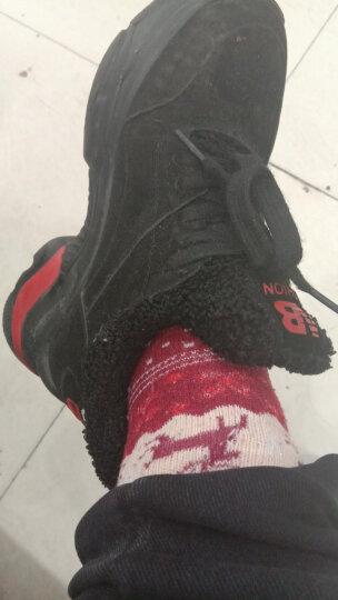 南极人 5双装袜子女士冬款加厚保暖袜男女中筒袜休闲情侣羊毛袜 均码 麋鹿女 晒单图