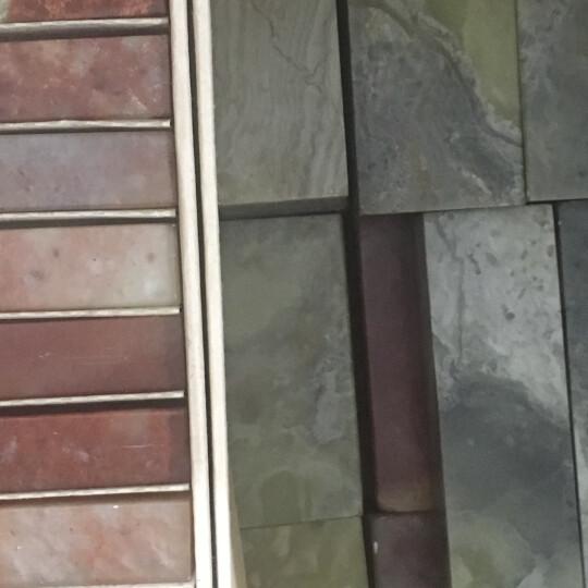 金石印坊 普磨青田石平头圆章 三种规格可供选择 圆形印章料篆刻石料 5枚装3.0X3.0X5CM 晒单图