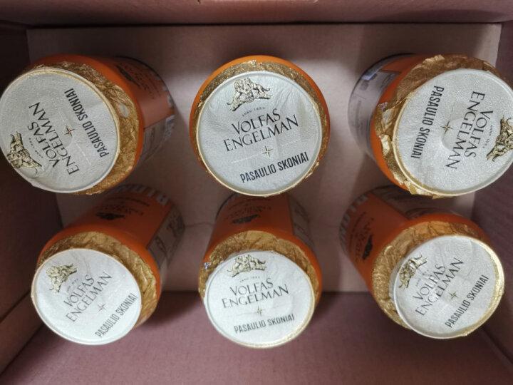 沃夫狼(VOLFAS ENGELMAN) 凯旋比利时风味小麦精酿啤酒 568ml*6听 礼盒装 立陶宛原装进口 晒单图