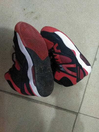 鸿星尔克(ERKE)童鞋儿童篮球鞋大童运动鞋高帮机能鞋篮球训练鞋男童 亮红/正黑 37 晒单图