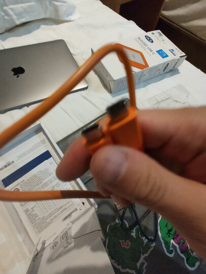 LaCie 1TB USB3.0 移动硬盘 Rugged 2.5英寸 便携三防 晒单图