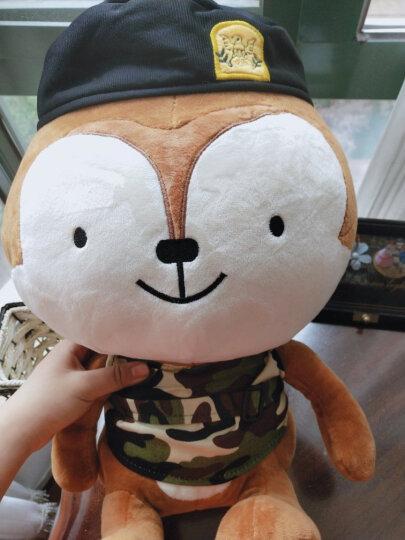 聚可爱 太阳的后裔公仔 兔子周边 郎君毛绒玩具 宋慧乔仲基同款布娃娃泰迪熊 送女生日礼物 兔子 80cm(唱歌韩文主题曲) 晒单图