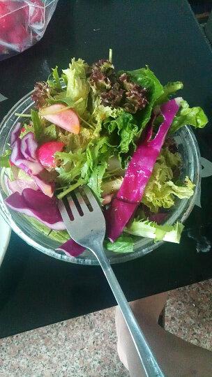 老一生鲜 新鲜蔬菜 沙拉菜 紫甘蓝 紫包球 生菜 约750g左右 晒单图