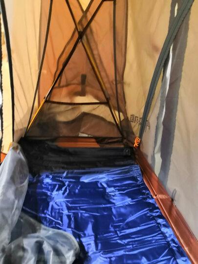 喜马拉雅户外钓鱼帐篷 单人 防雨垂钓帐篷 户外离地帐篷 单人冬钓帐篷 离地帐篷床钓鱼防风 咖色帐篷+行床军 晒单图