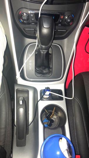 先科(SAST) 车载充电器 车充点烟器 T17银色 3.1A双USB一拖二 电压检测LED数显 晒单图