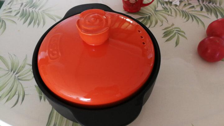 爱仕达 砂锅1.5L耐高温陶瓷煲 奶锅炖锅陶瓷石锅 RXC15B1WG 晒单图