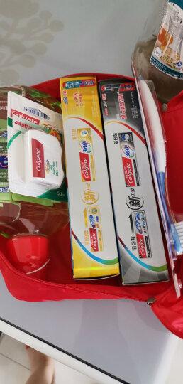 高露洁(Colgate)专业口腔护理 便利包( 360°牙膏×2+牙刷×2+漱口水500ml,送牙线50M,赠品随机发放) 晒单图