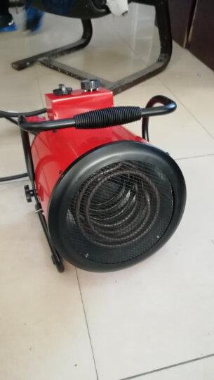勒烁工业暖风机热风机家用浴室室内小型节能养殖速热大面积电暖器热风炉工业取暖器 AS-E009/380V 晒单图