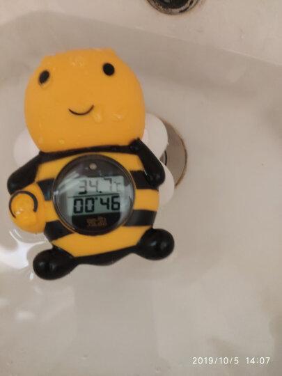 萱品 水温计婴儿洗澡水温度计 新生儿宝宝洗澡神器 沐浴盆洗澡盆水温表鸭子 测温用的电子温度计 蜜蜂+10粒小电池 晒单图