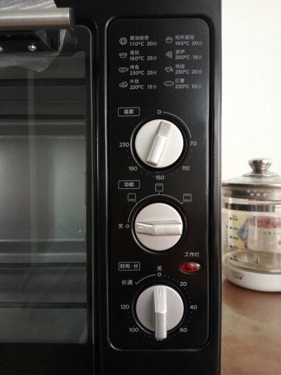 美的(Midea)MG38CB-AA 家用多功能电烤箱 38升大容量烤箱 广域控温 晒单图