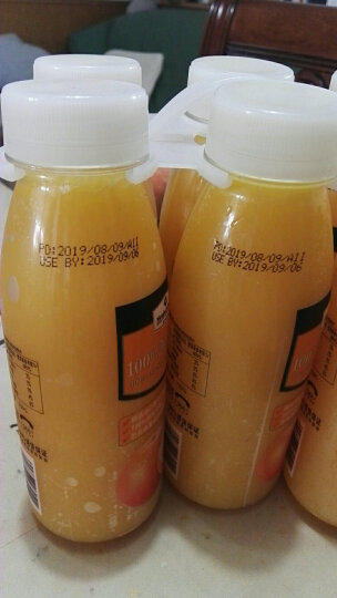 Member's Mark 鲜榨橙汁 300ml*6支 原汁原味 果汁 饮料 饮品 瓶装果汁饮料 晒单图