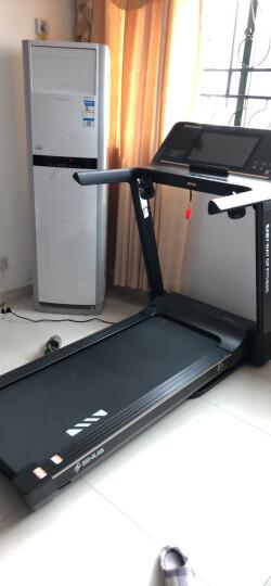 舒华(SHUA)SH-T5100智能微信互联跑步机家用静音多功能减震折叠超大跑台E9 新款上市 SH-T5100 高雅白(新品上市) 晒单图