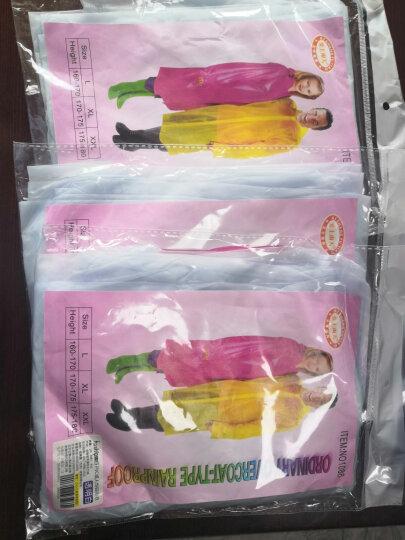趣行 PVC防水鞋套 蓝色43-45码 拉链式防雨鞋套男女加厚底雨鞋 防滑耐磨平底雨靴套 晒单图