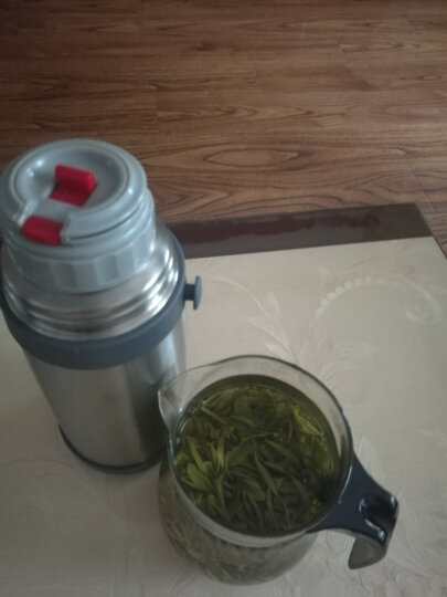 安吉白茶2019新茶一杯香茶叶绿茶明前茶春茶绿茶茶叶新茶散装珍稀白茶100克罐装 晒单图