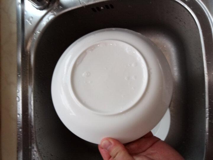 国玥 骨瓷西餐盘子陶瓷碟子西餐盘创意牛排盘 纯白圆形单个 4英寸小吃碟 晒单图