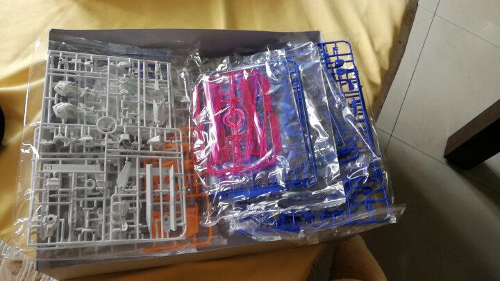 万代高达拼装模型玩具MG 敢达1/100系列 飞翼零式-带支架 129454 晒单图