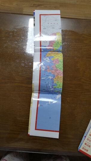 世界分国地图·欧洲--西班牙 葡萄牙 安道尔地图(中外对照 防水 耐折 撕不烂地图 折叠图 欧洲地图) 晒单图