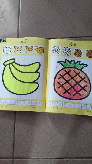 小小孩全5本 书本一体幼儿绘画 学画入门基础3-6岁宝宝涂色学画画图书幼儿园儿童美术教材手 晒单图