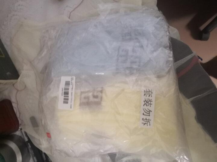 三利 纯棉井格绣花面巾3条装 洗脸毛巾 独立包装 34×75cm 晒单图