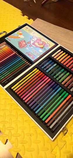 得力(deli)68879 学生文具礼盒/儿童绘画用品大礼包8件套装 (水彩笔蜡笔彩铅油画棒) 晒单图