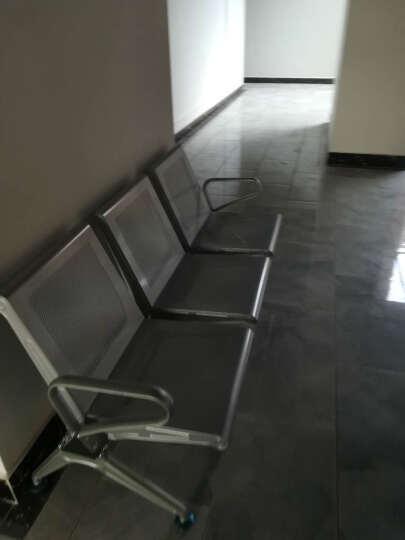 普拉格 排椅 机场椅 公共长椅 候车椅 钢制排椅银行等候椅医院候诊椅输液椅 四人位(其他颜色请备注) 晒单图
