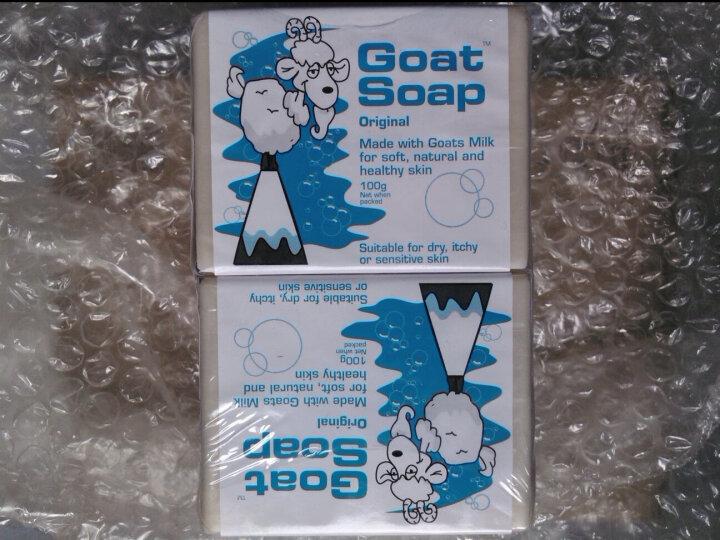 Goat Soap山羊奶皂 儿童香皂洁面洗脸洗手手工皂沐浴身体肥皂澳洲进口 原味100g*6 晒单图