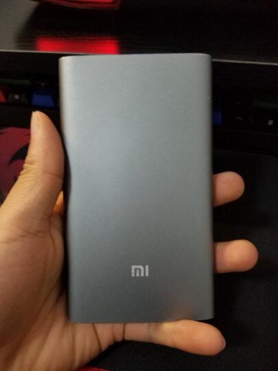 小米10000毫安 移动电源/充电宝 高配版 聚合物 金色 适用于安卓/苹果/手机/平板等 晒单图