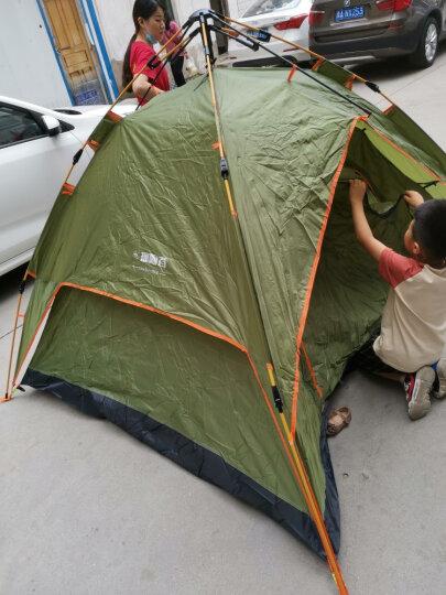 探险者(TAN XIAN ZHE)全自动帐篷户外防雨双人双层免搭建3-4人野外露营帐篷套装 【升级款】2-3人露营防暴雨套餐 晒单图