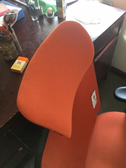 西昊(SIHOO) 人体工学电脑椅子 家用老板椅电竞椅 靠背转椅座椅 护腰办公椅可躺 M18橙色 晒单图