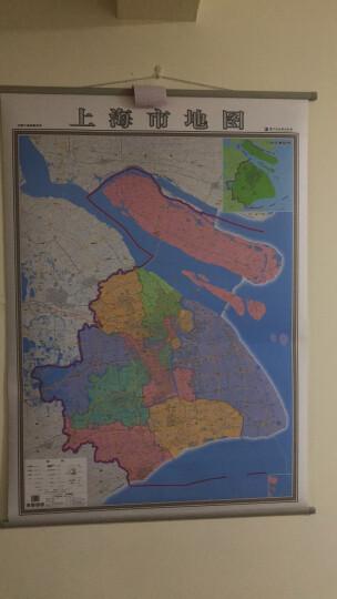 2018新上海市地图挂图 上海政区图 高清彩印 1.4米*1米 覆膜挂绳政区交通地图 晒单图